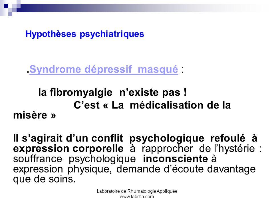 Hypothèses psychiatriques