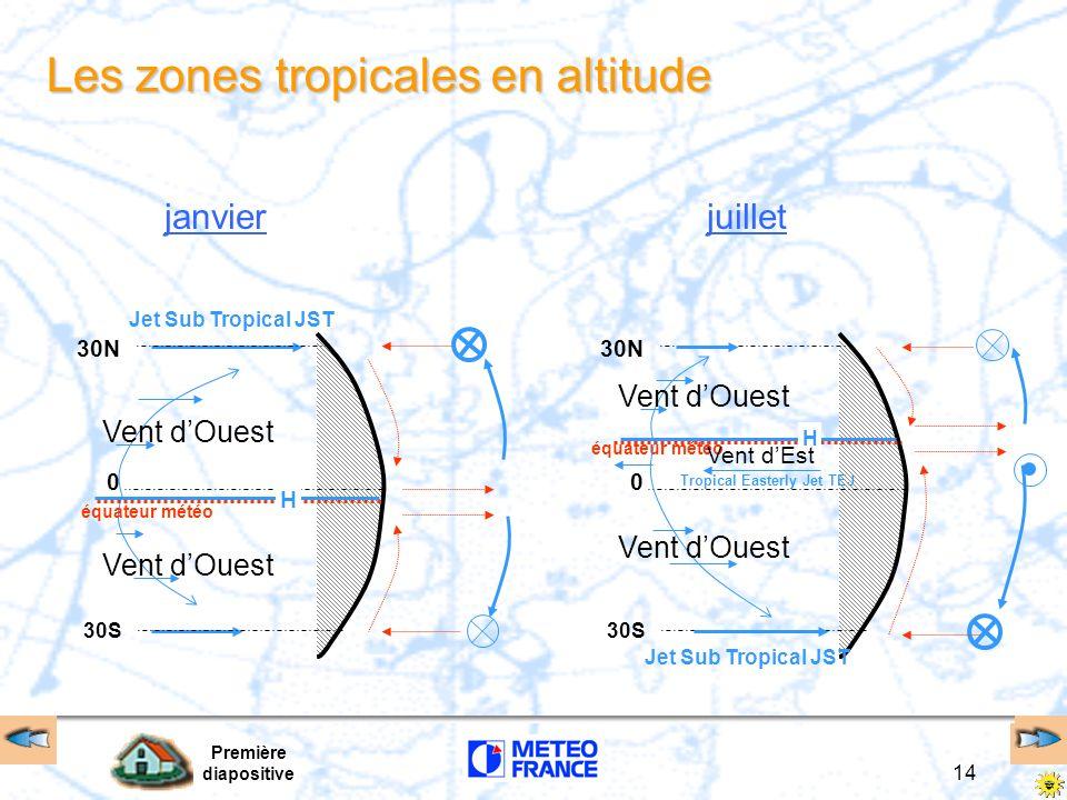 Les zones tropicales en altitude