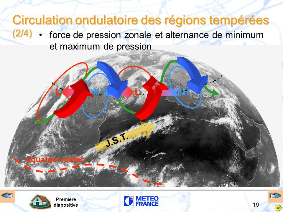 Circulation ondulatoire des régions tempérées (2/4)