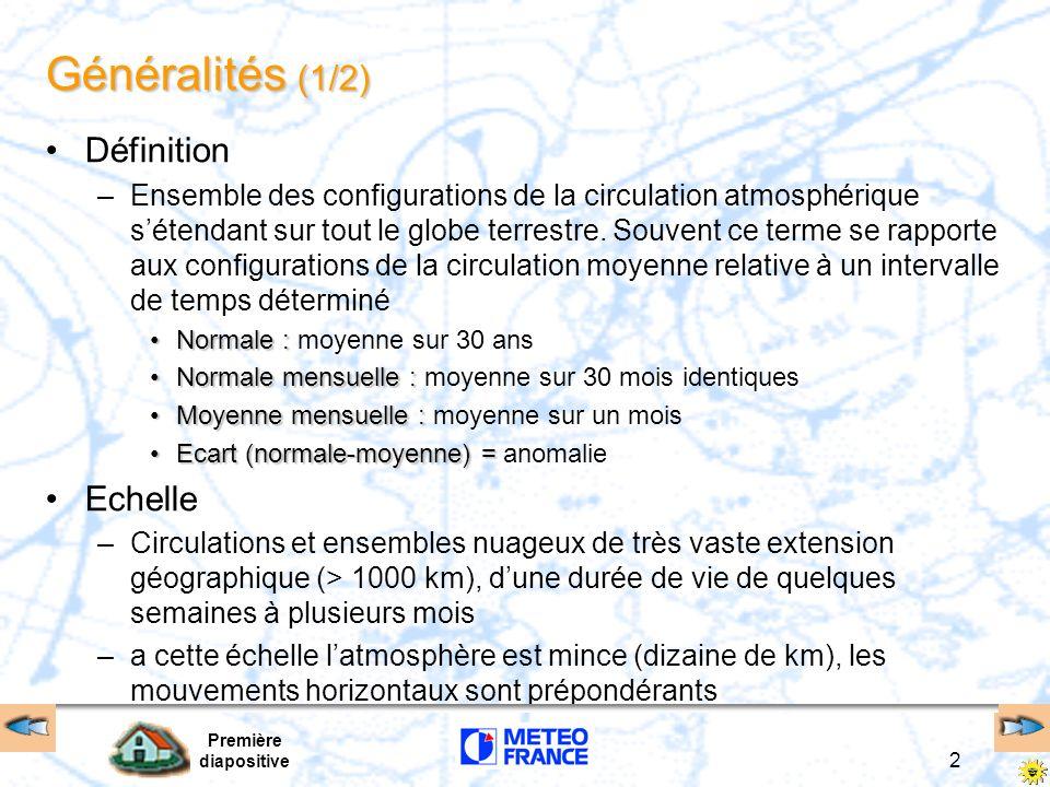 Généralités (1/2) Définition Echelle