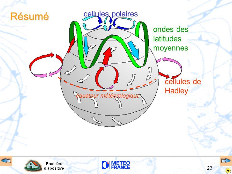 Résumé cellules polaires ondes des latitudes moyennes