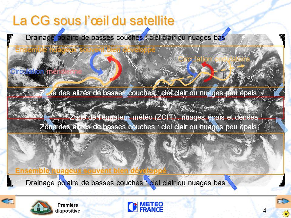 La CG sous l'œil du satellite