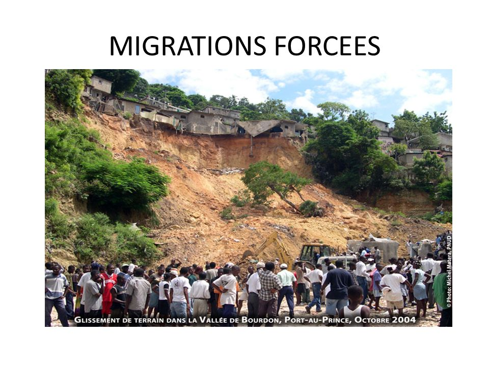 MIGRATIONS FORCEES