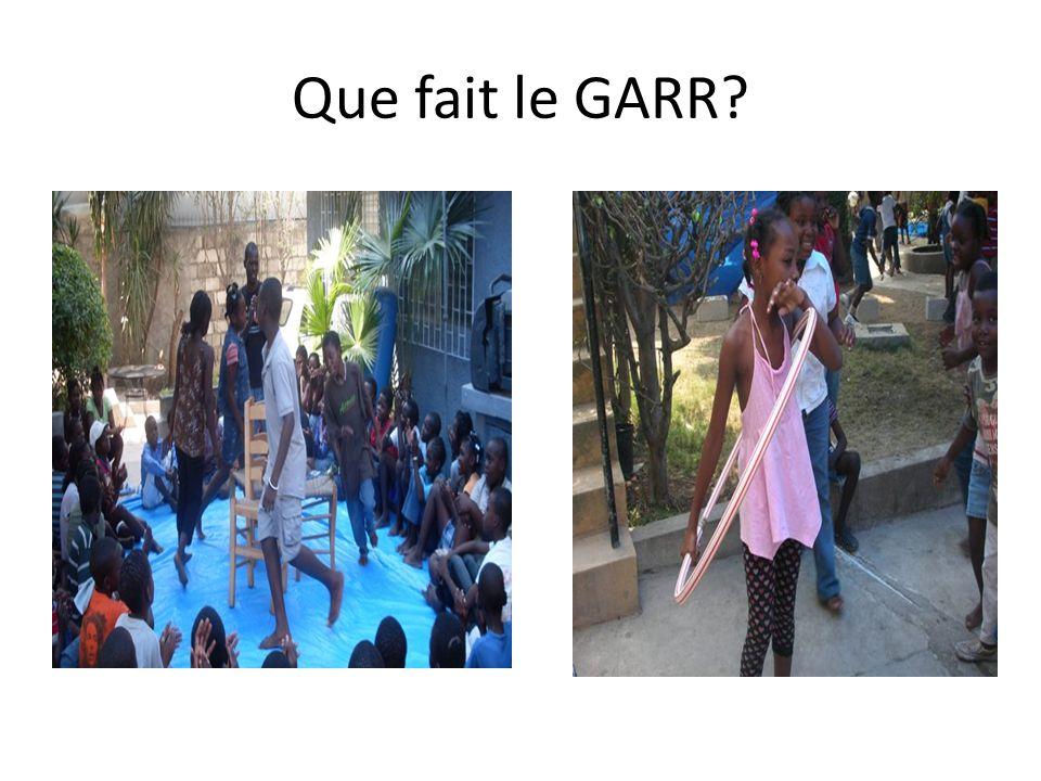 Que fait le GARR