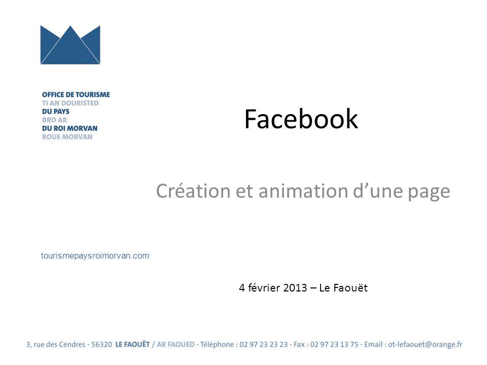 Création et animation d'une page