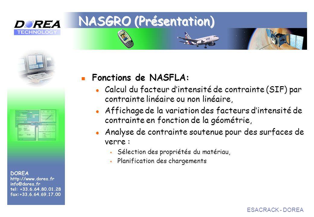 NASGRO (Présentation)