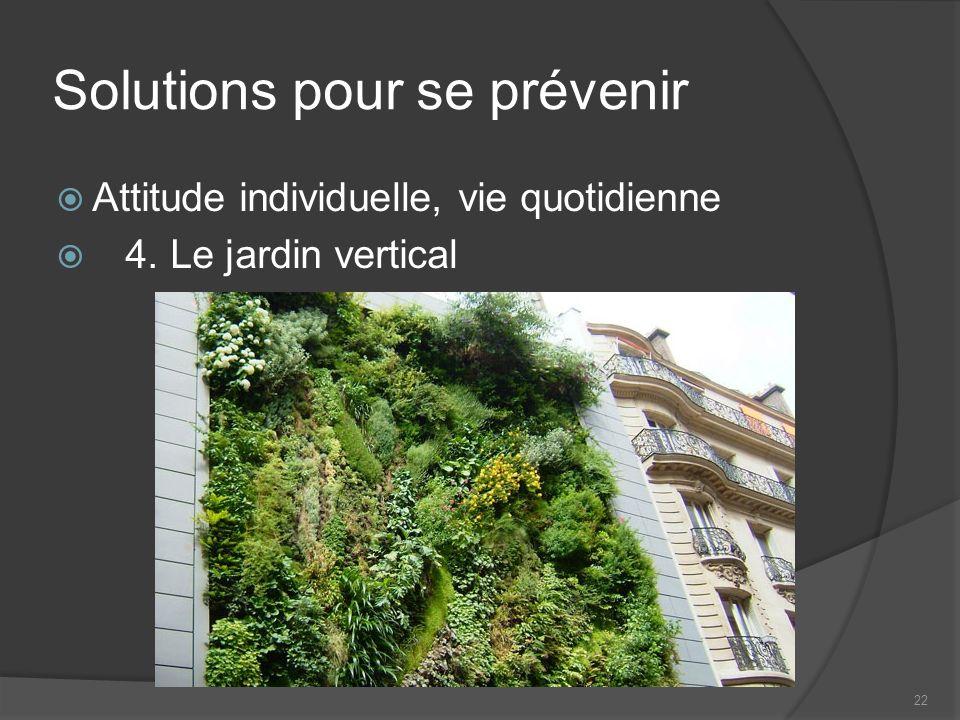 Solutions pour se prévenir