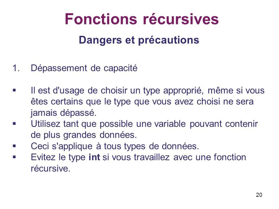 Dangers et précautions