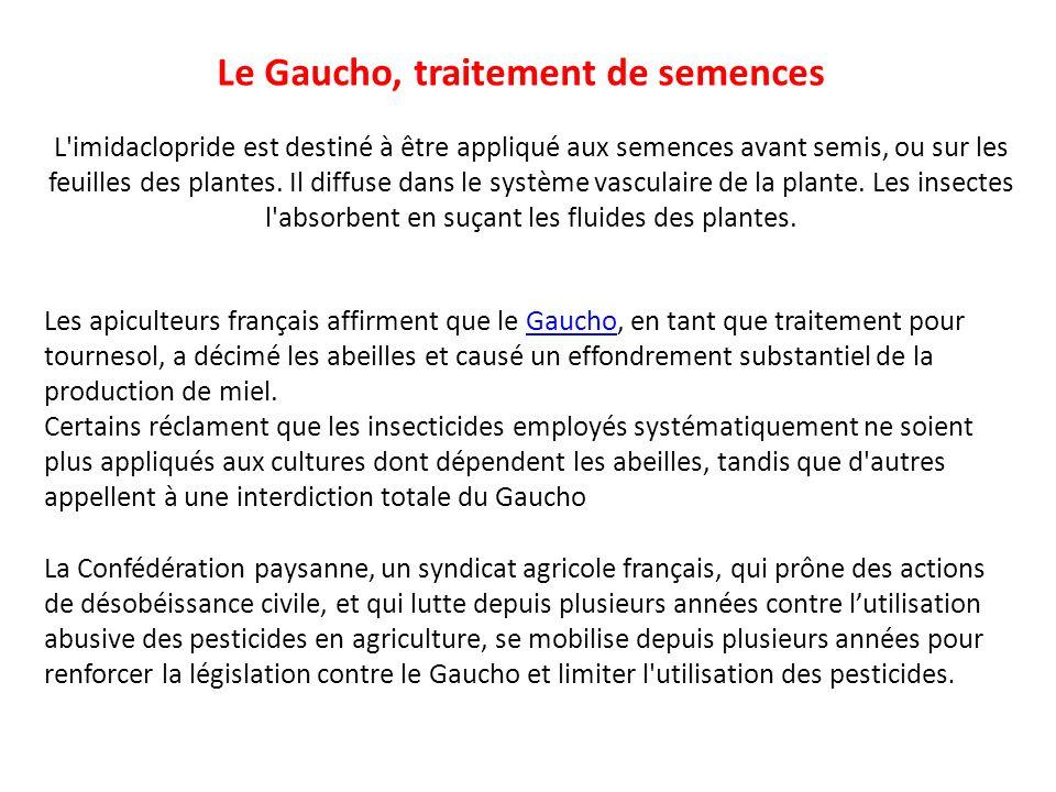Le Gaucho, traitement de semences