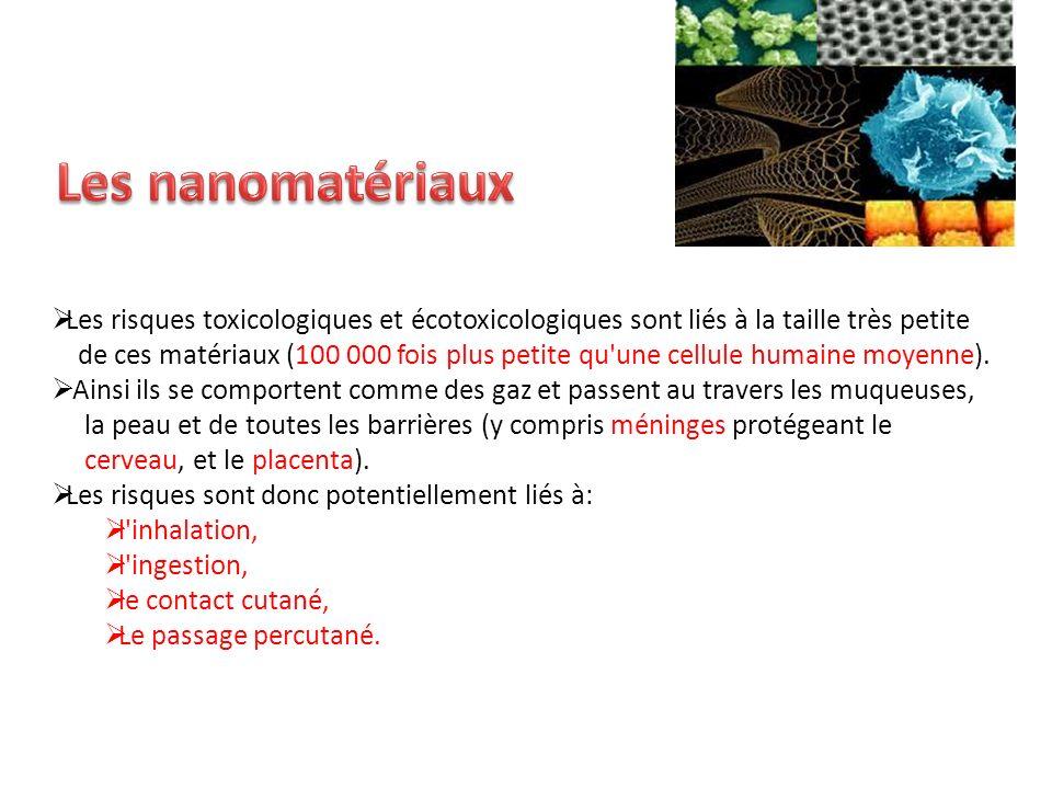 Les nanomatériaux