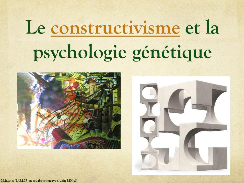 Le constructivisme et la psychologie génétique