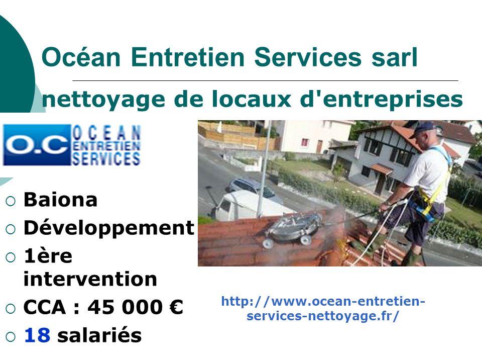 Océan Entretien Services sarl