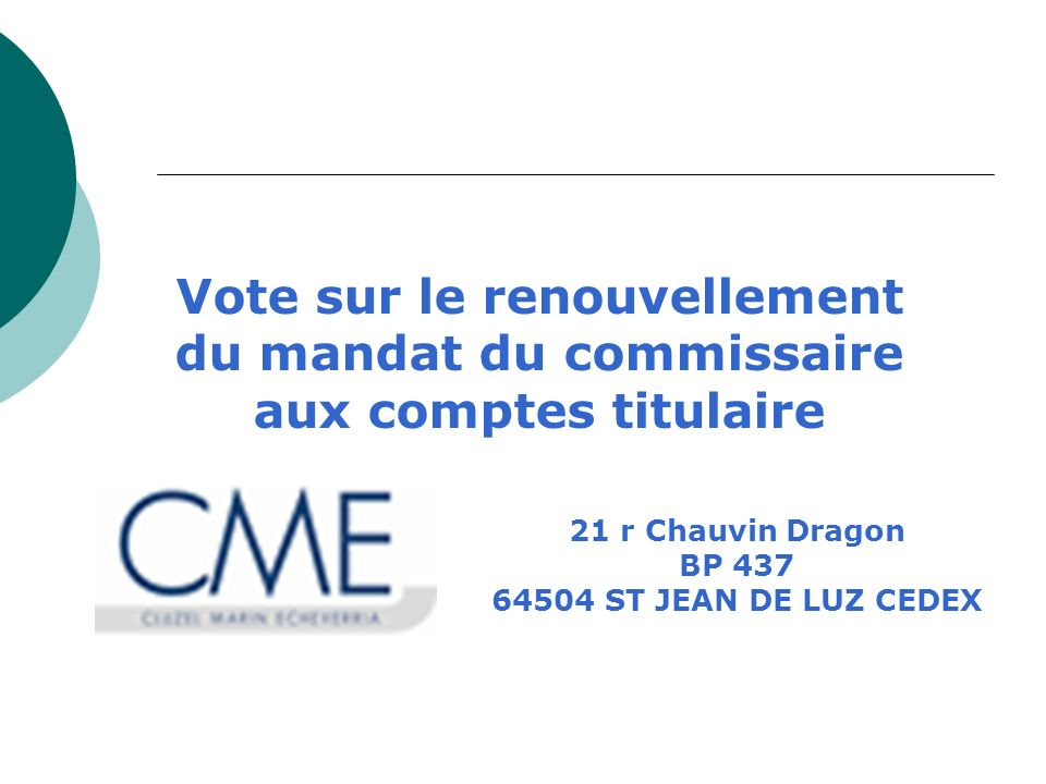 21 r Chauvin Dragon BP 437 64504 ST JEAN DE LUZ CEDEX