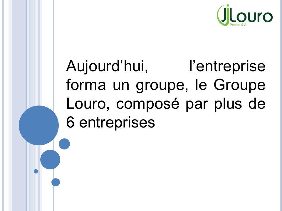 Aujourd'hui, l'entreprise forma un groupe, le Groupe Louro, composé par plus de 6 entreprises