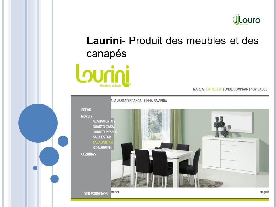 Laurini- Produit des meubles et des