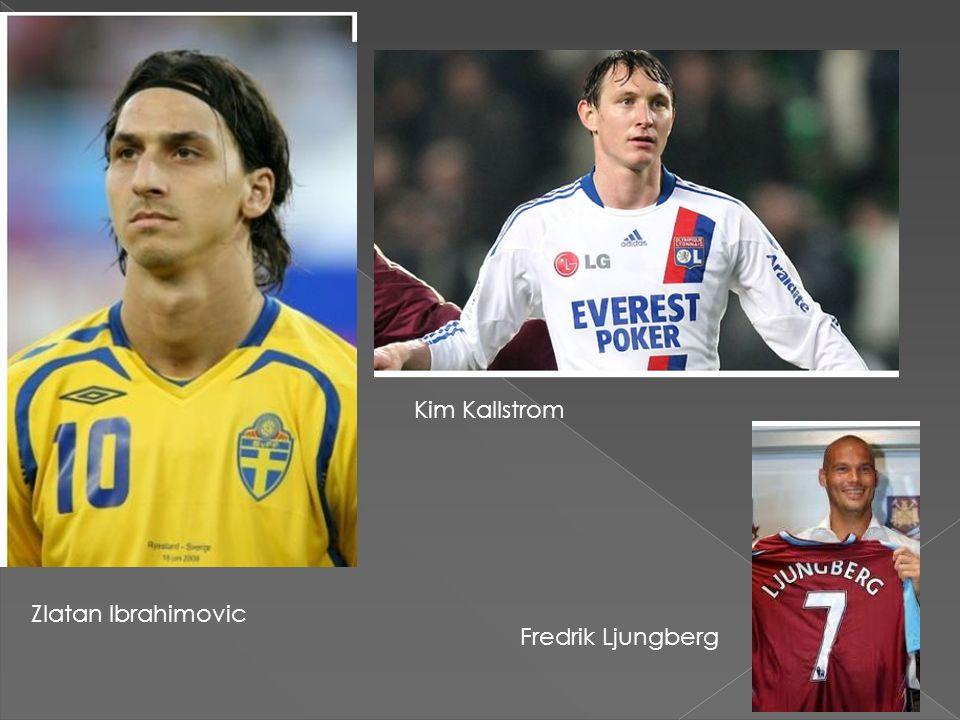 Kim Kallstrom Zlatan Ibrahimovic Fredrik Ljungberg