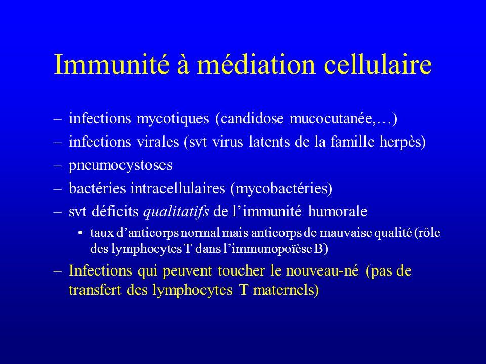 Immunité à médiation cellulaire
