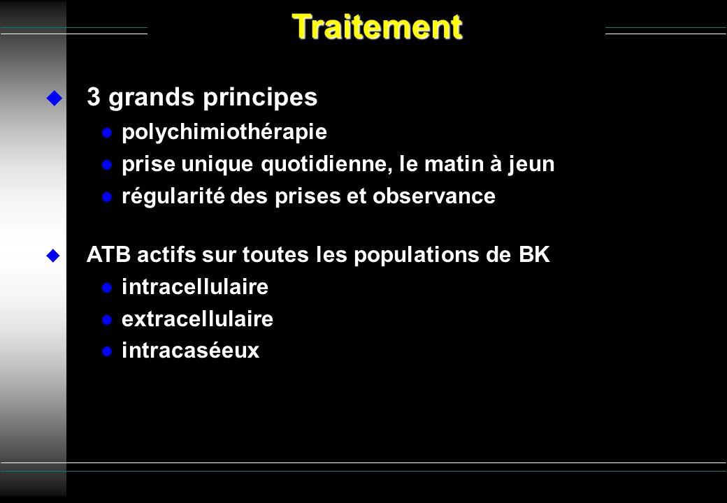 Traitement 3 grands principes polychimiothérapie