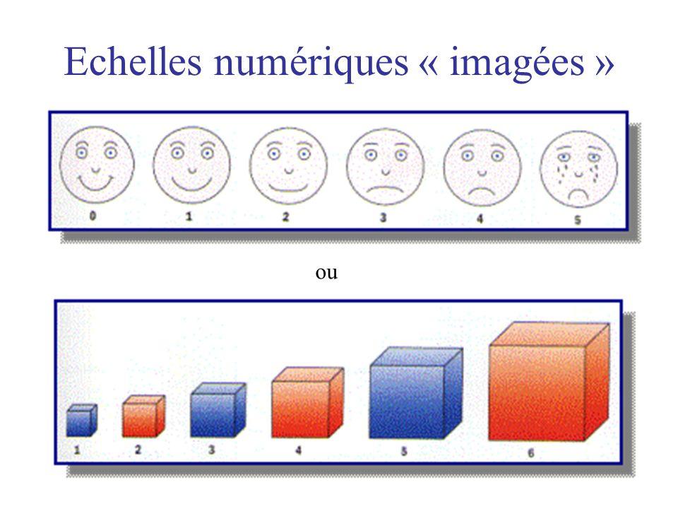Echelles numériques « imagées »