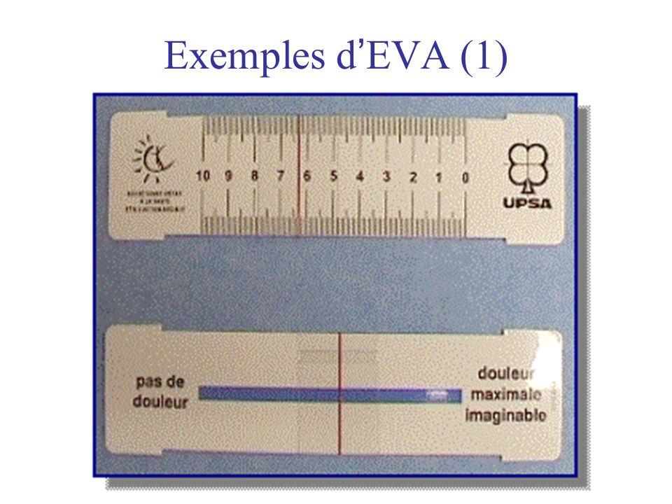 Exemples d'EVA (1)