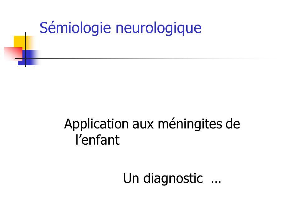 Sémiologie neurologique