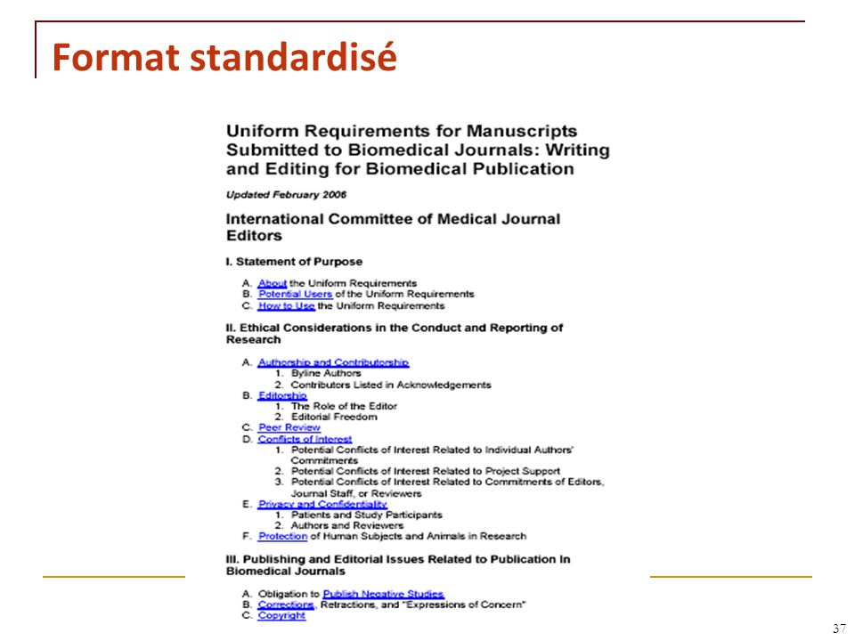 Format standardisé RNT - Leçon 10 (2.5.2011) 37 37