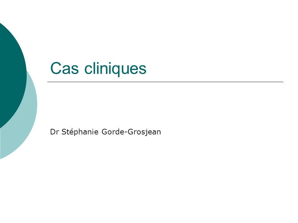 Dr Stéphanie Gorde-Grosjean