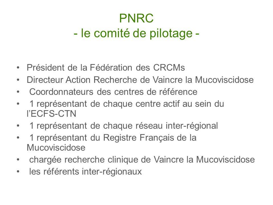 PNRC - le comité de pilotage -