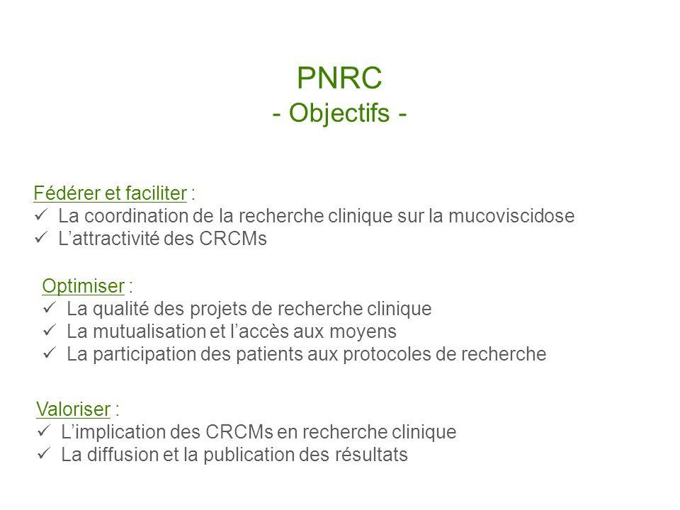 PNRC - Objectifs - Fédérer et faciliter :