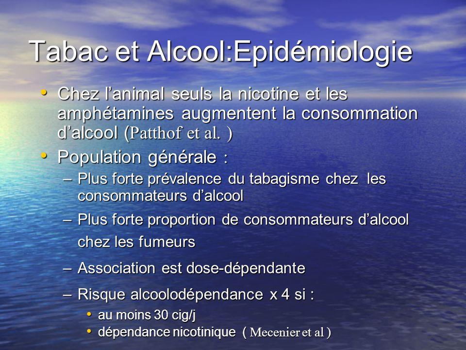 Tabac et Alcool:Epidémiologie