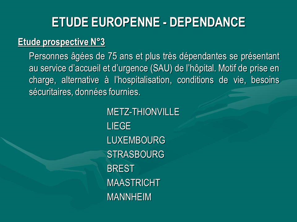 ETUDE EUROPENNE - DEPENDANCE