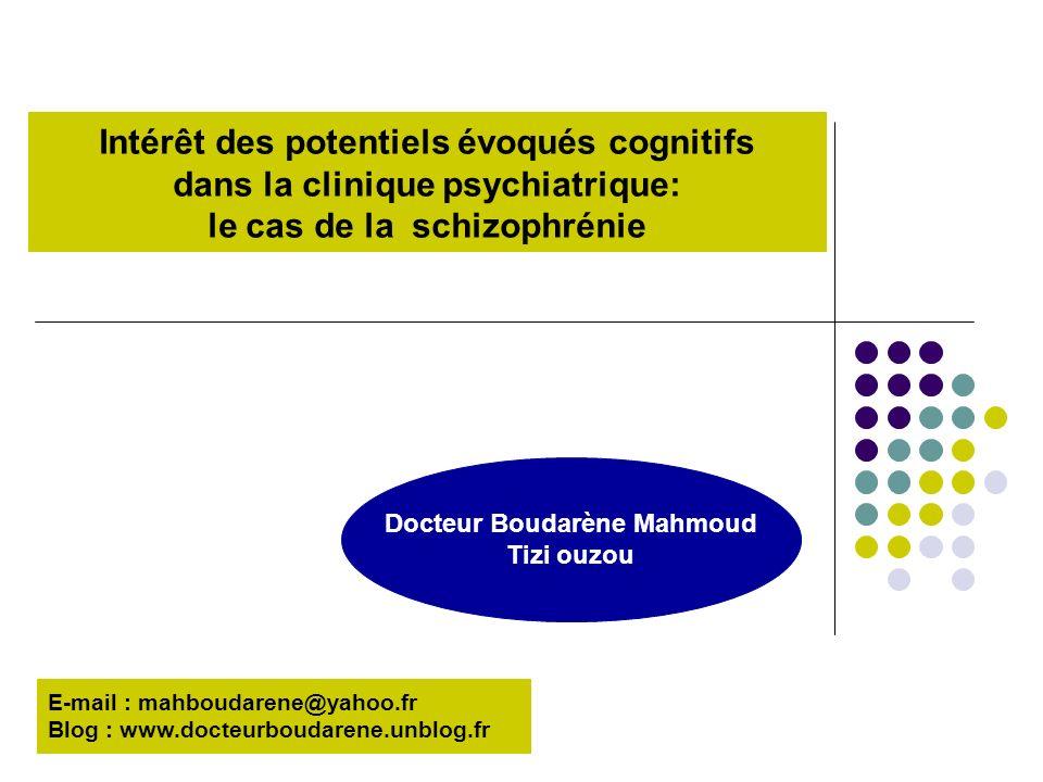 Docteur Boudarène Mahmoud