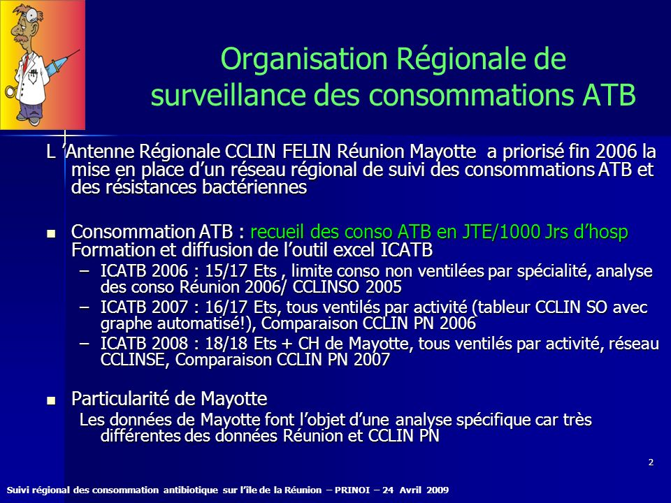 Organisation Régionale de surveillance des consommations ATB