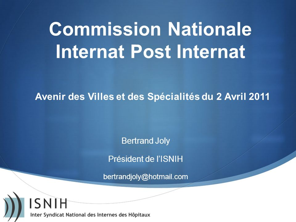 Commission Nationale Internat Post Internat