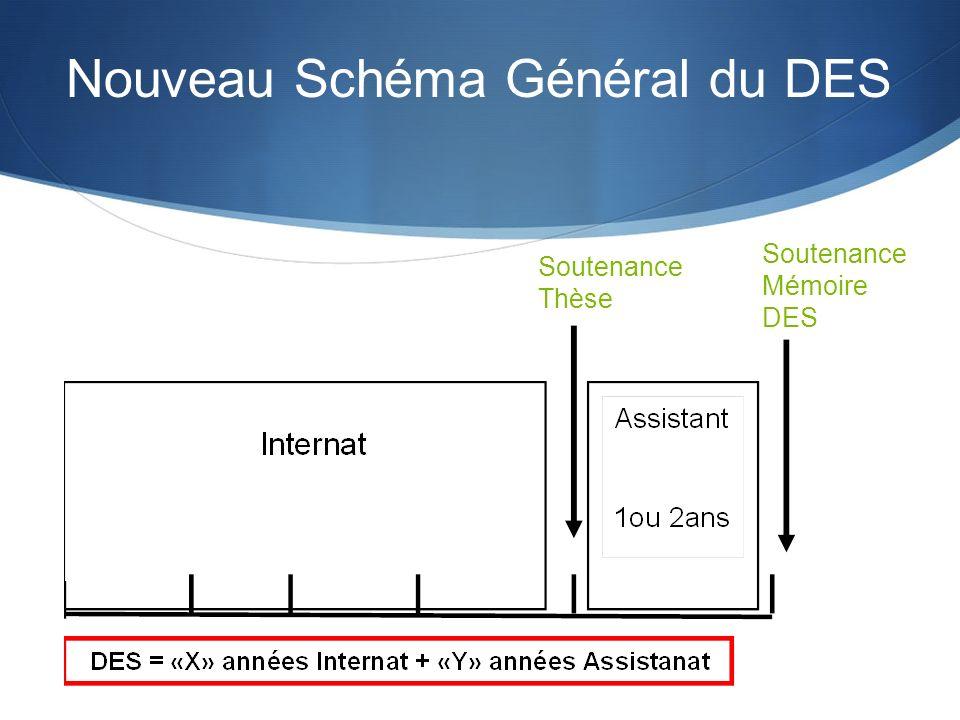 Nouveau Schéma Général du DES