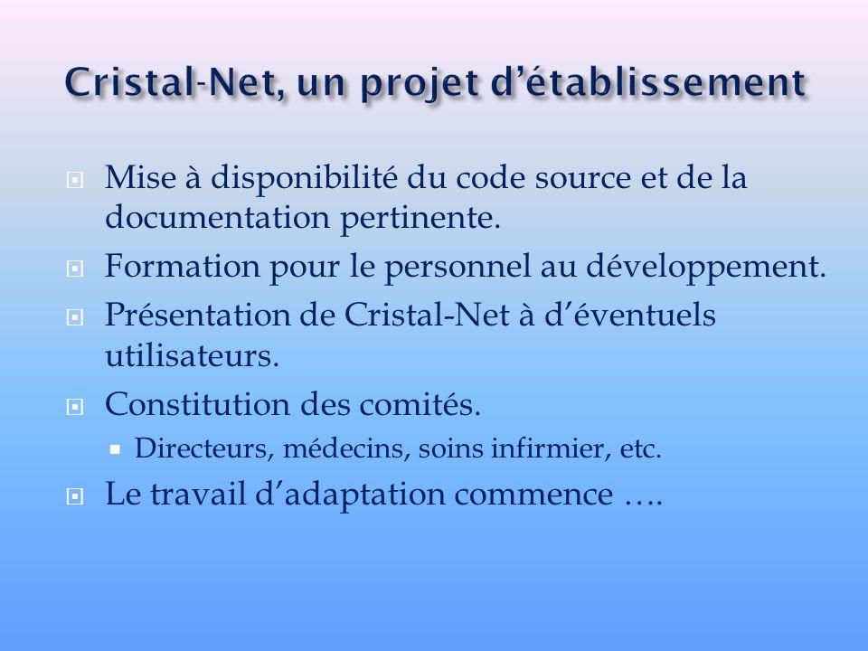 Cristal-Net, un projet d'établissement