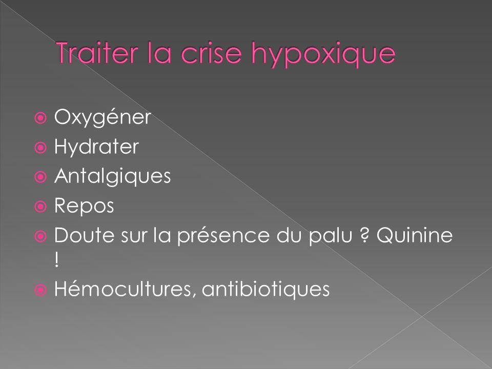 Traiter la crise hypoxique
