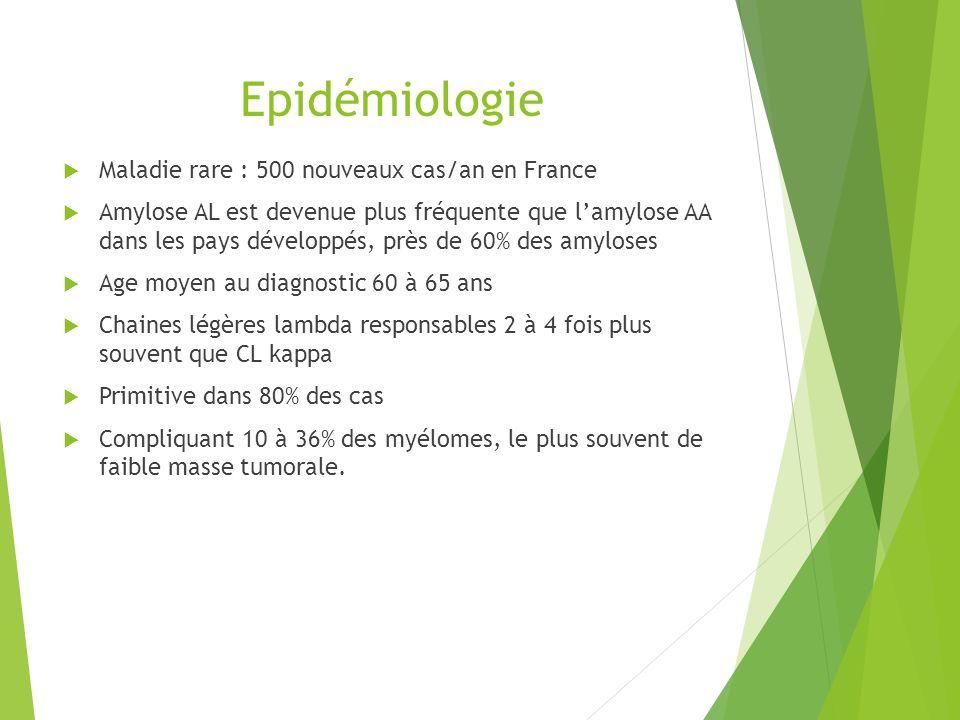 Epidémiologie Maladie rare : 500 nouveaux cas/an en France