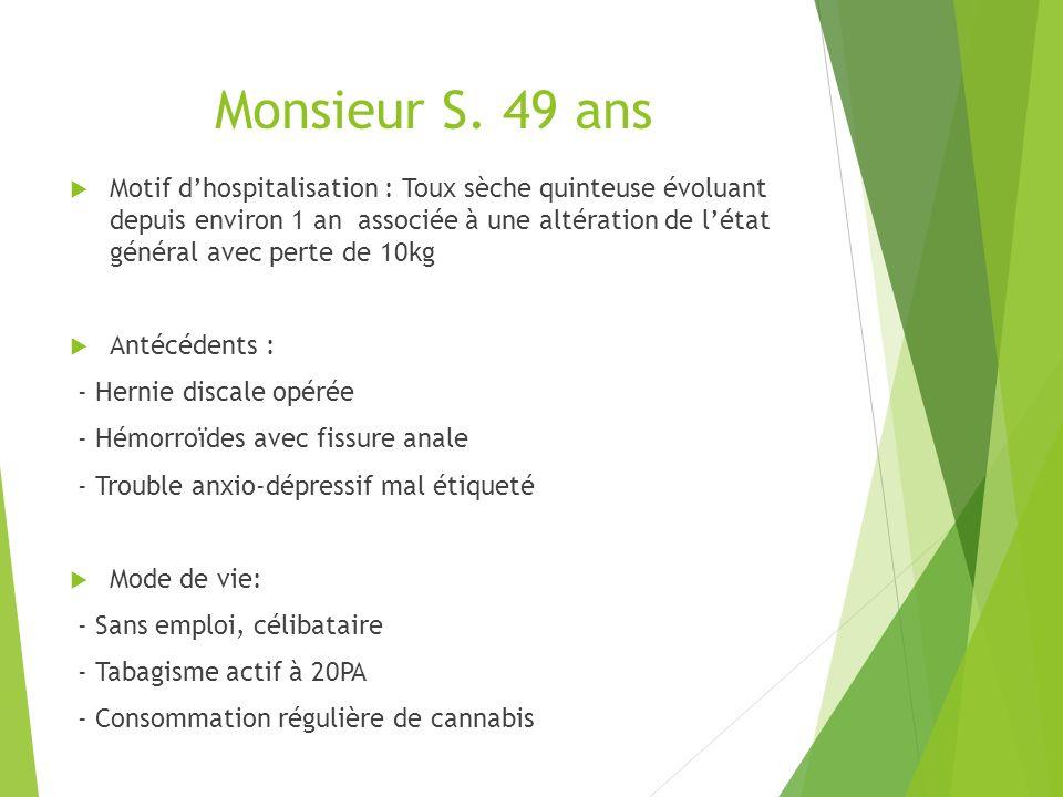 Monsieur S. 49 ans