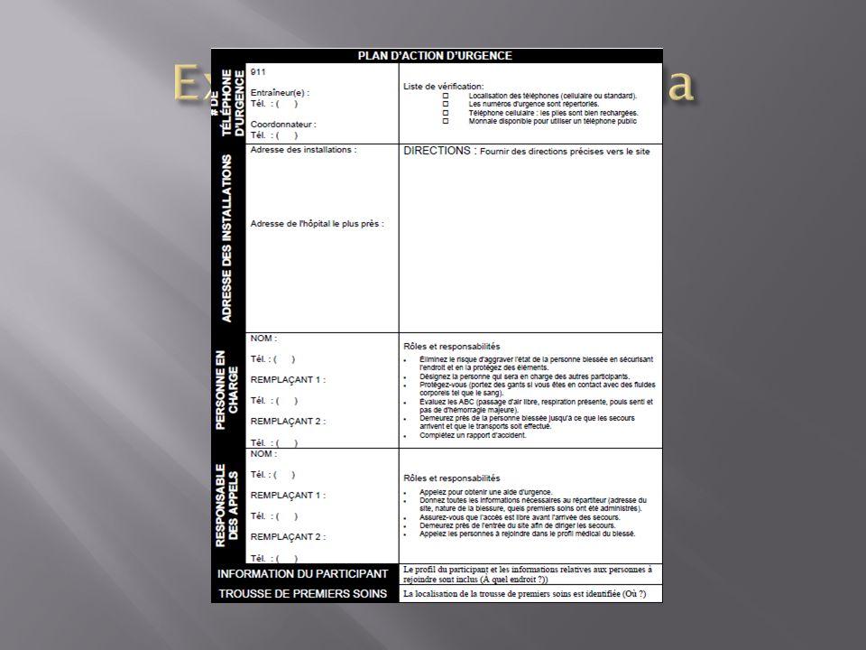 Exemple PAU canada