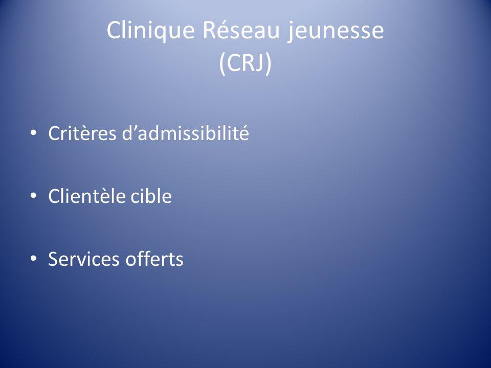 Clinique Réseau jeunesse (CRJ)