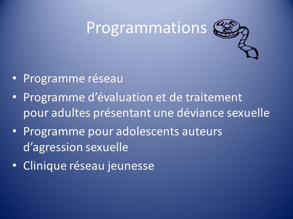 Programmations Programme réseau