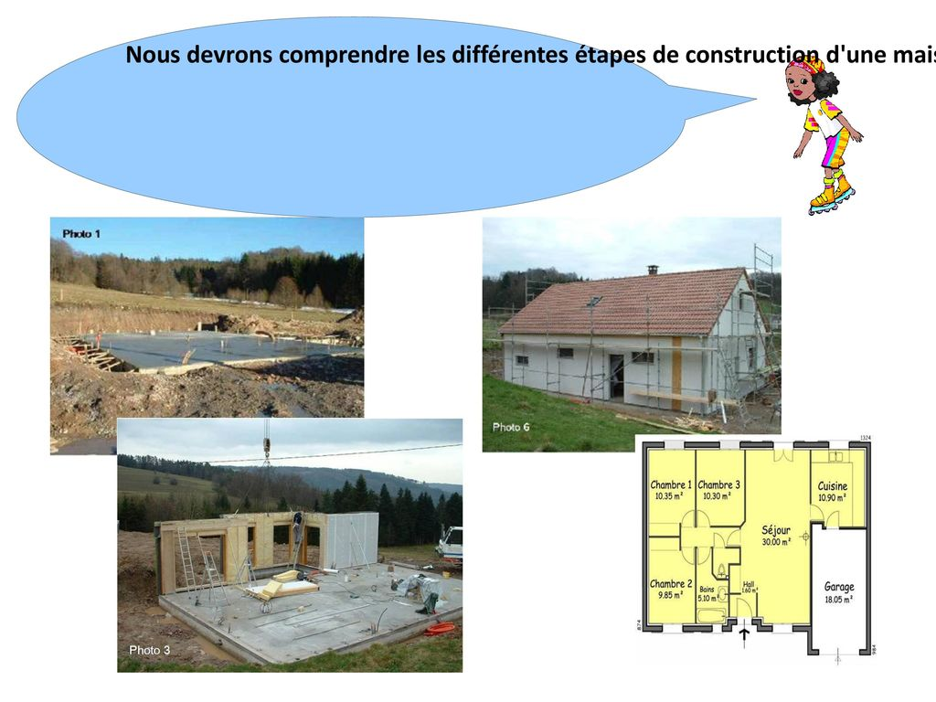 nos parents envisagent la construction d'une maison - ppt video ... - Les Differentes Etapes De Construction D Une Maison