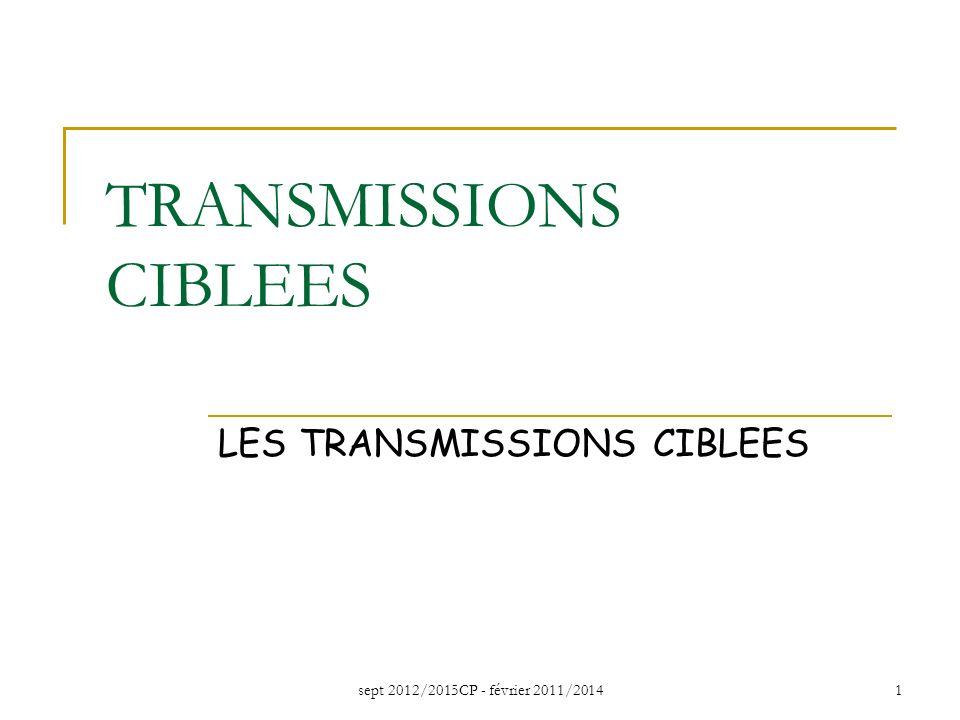 TRANSMISSIONS CIBLEES