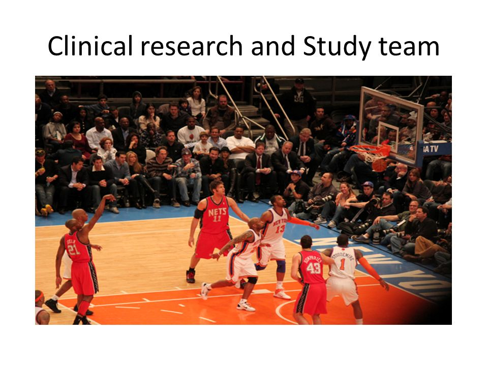 Clinical research and Study team
