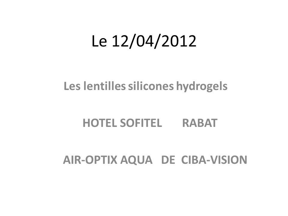 Les lentilles silicones hydrogels AIR-OPTIX AQUA DE CIBA-VISION