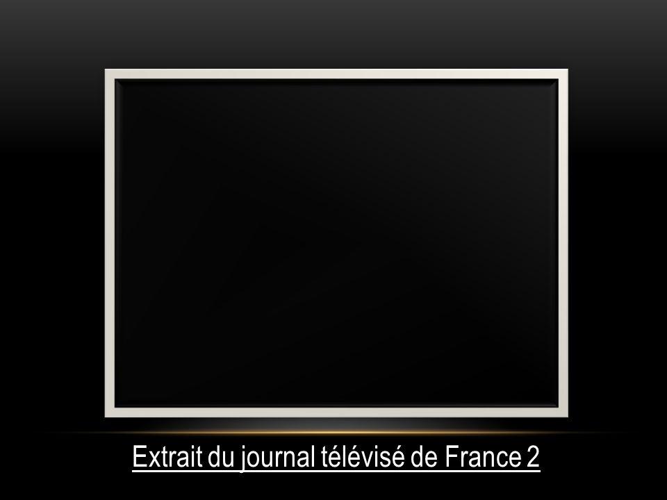 Extrait du journal télévisé de France 2