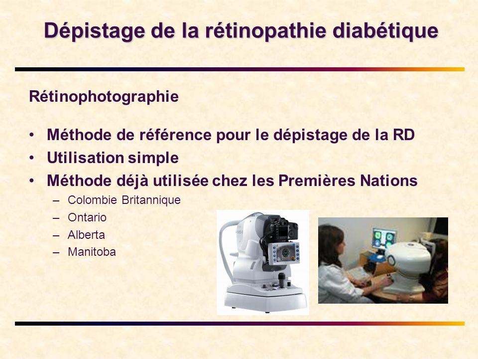 Dépistage de la rétinopathie diabétique
