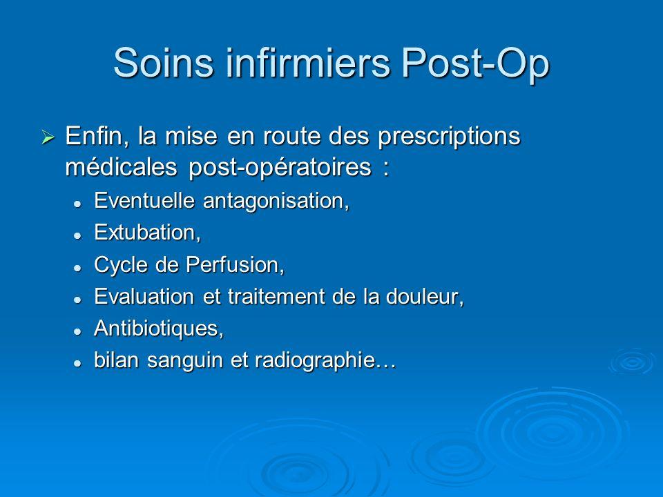 Soins infirmiers Post-Op