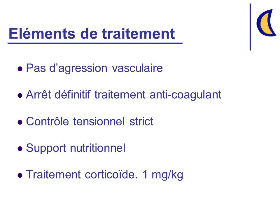 Eléments de traitement